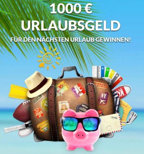 1000 Euro Urlaubsgeld