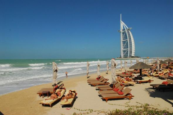 Strand von Dubai