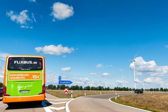 Flixbus Reisen