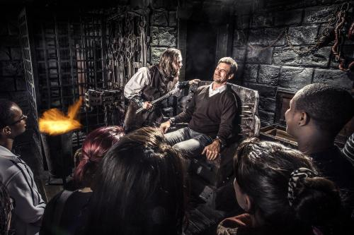 Folterkammer im Hamburger Dungeon
