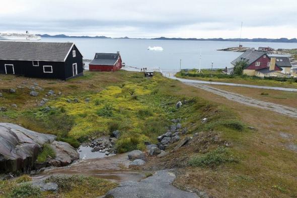 Es ist nicht immer eisig in Grönland (hier Nuuk)