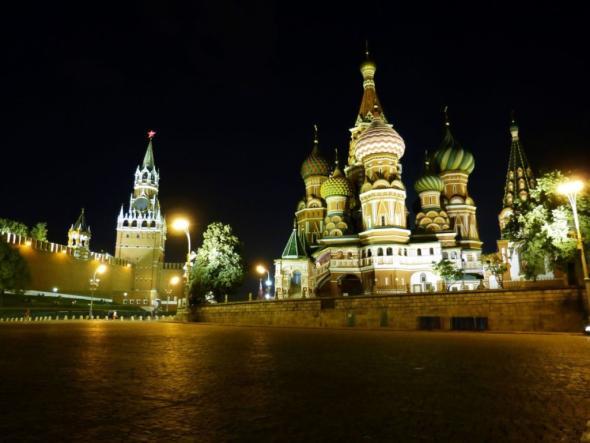 Keine politische Errungenschaft - der Rote Platz in Moskau