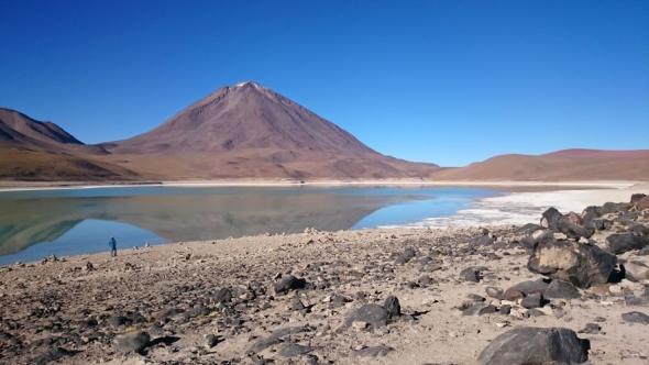 Mein Favorit unter allen angefahrenen Naturwundern: Die Laguna Verde